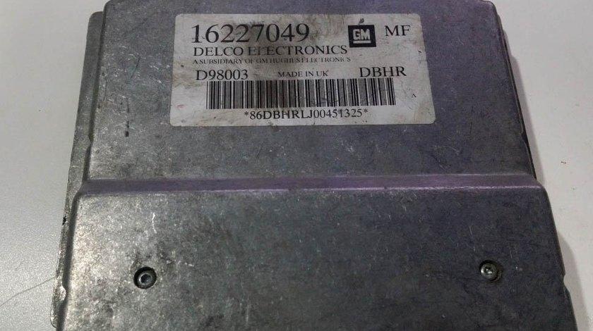 ECU Calculator motor Opel Astra G 1.6 16227049 MF X16SZR