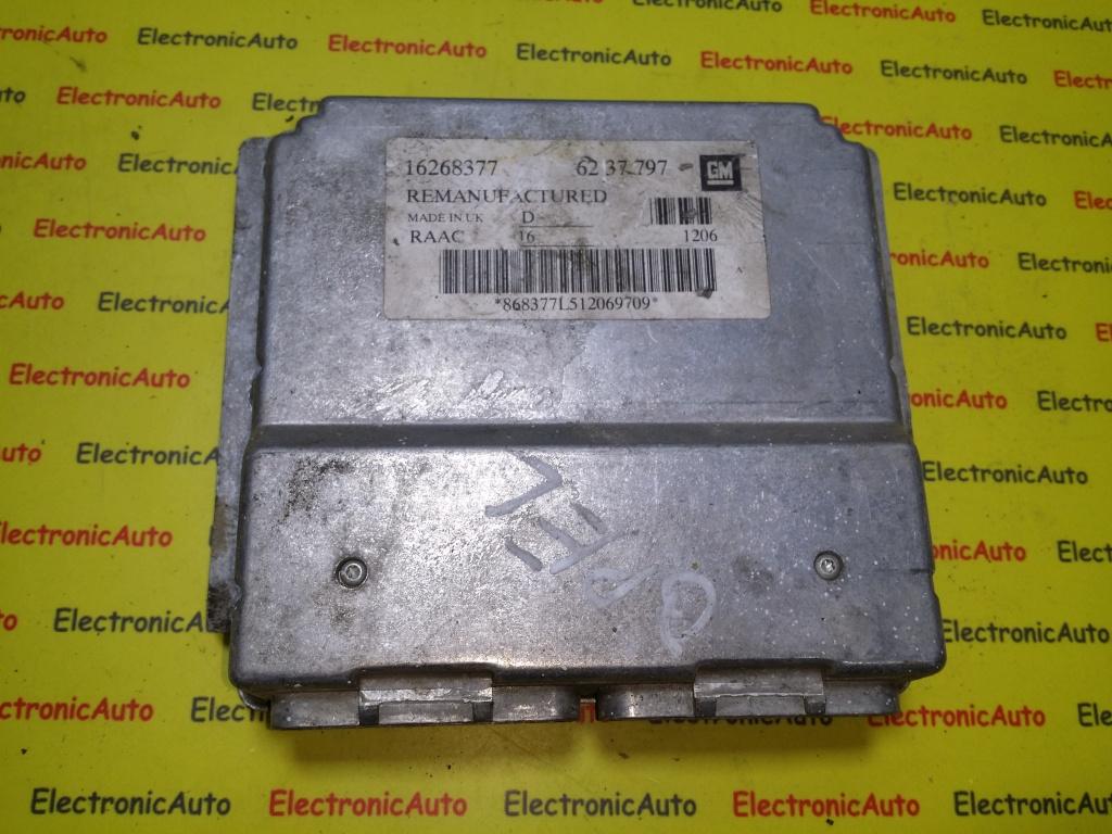 ECU Calculator motor Opel Astra G 1.6 16268377