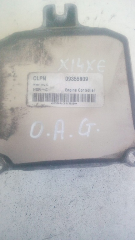 ECU / Calculator motor Opel Astra G cod 09355909 (M00391)