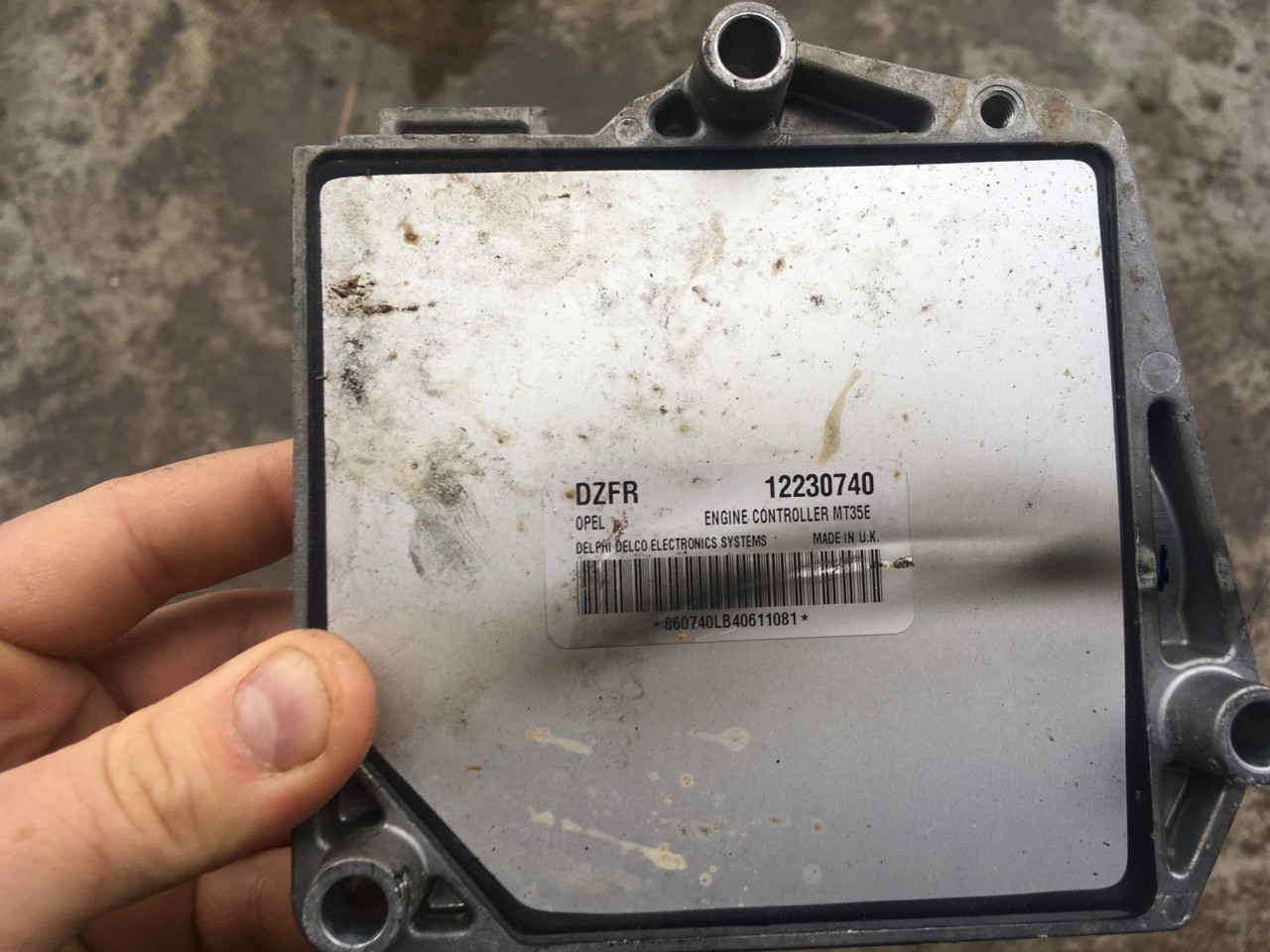 ECU Calculator motor Opel Astra H 1.6 benzina Z16XEP
