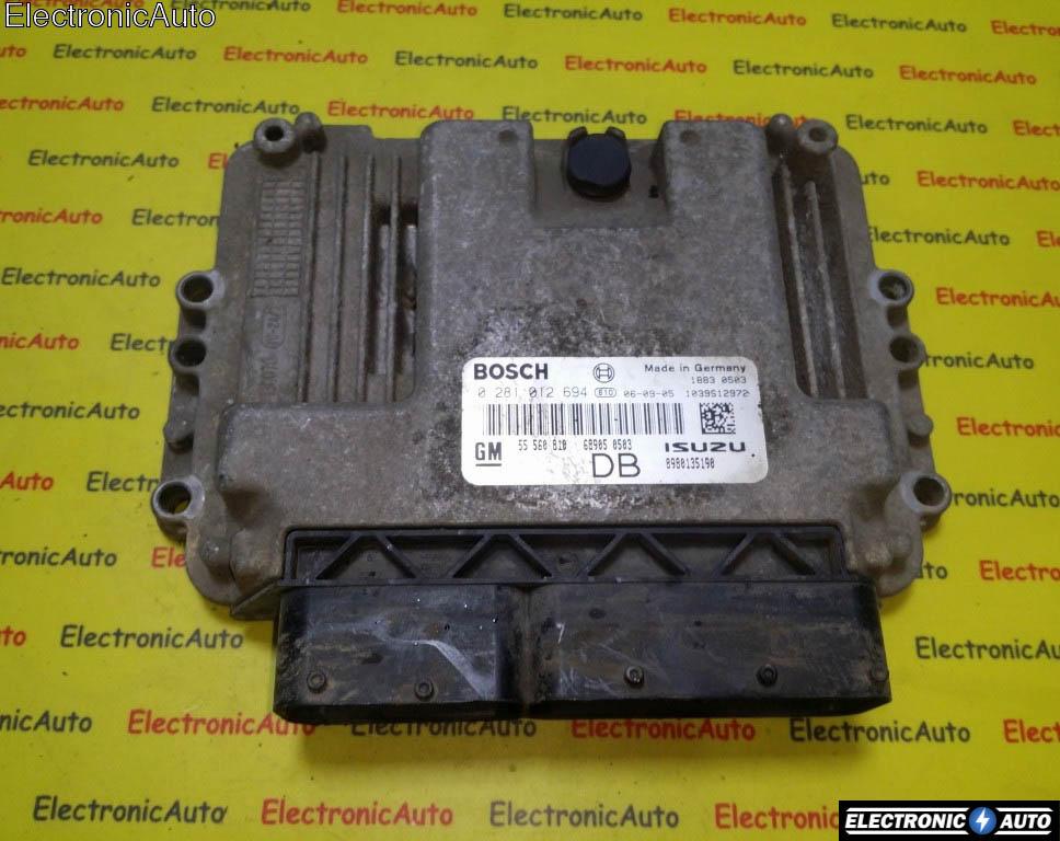 ECU Calculator motor Opel Astra H 1.7CDTI 0281012694