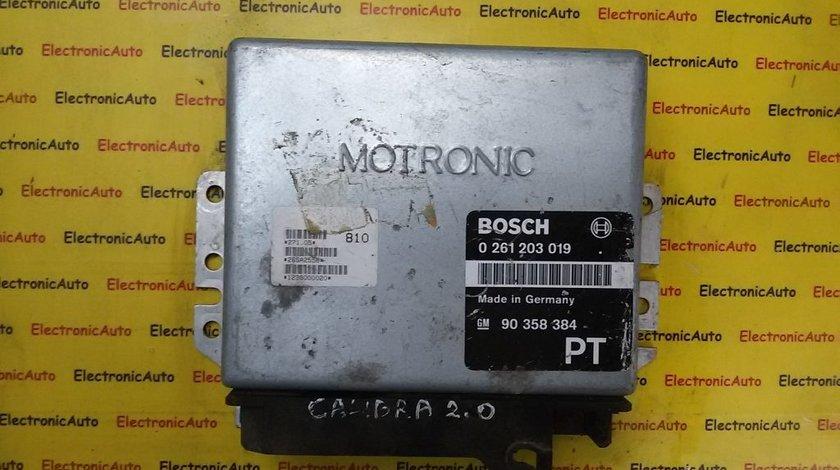ECU Calculator motor Opel Calibra 2.0 0261203019