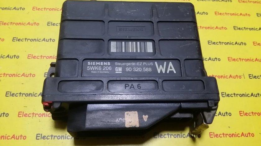 ECU Calculator motor Opel Corsa 1.6 90320588, 5WK6206