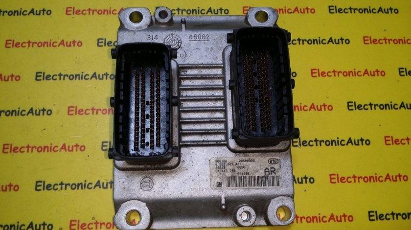 ECU Calculator motor Opel Corsa C 1.0 0261207421, Z10XE