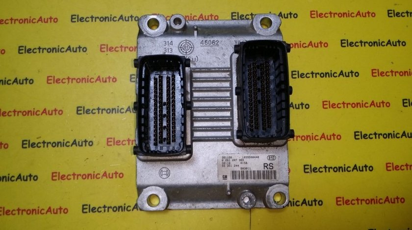 ECU Calculator motor Opel Corsa C 1.0 0261207965, Z10XE