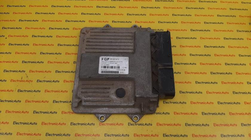 ECU Calculator motor Opel Corsa C 1.3CDTI 55187472