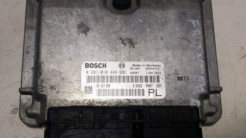 ECU Calculator motor Opel Frontera 2.2DTI 0281010448