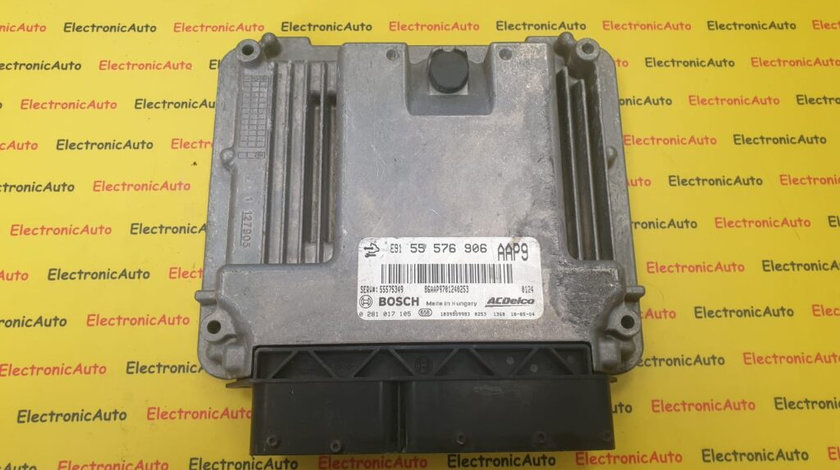 ECU Calculator Motor Opel Insignia 2.0 CDTI, 0281017105, 55576906