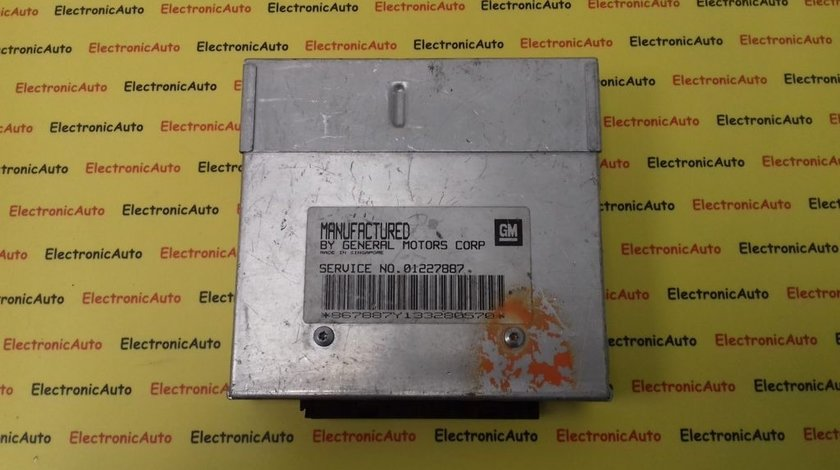 ECU Calculator motor Opel Kadett 1.6 01227887 C16NZ