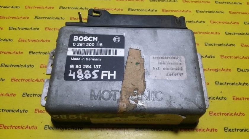 ECU Calculator motor Opel Kadett 2.0 0261200115, 90284137