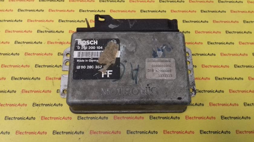 ECU Calculator Motor Opel Omega 2.0 0261200104 ML4.1