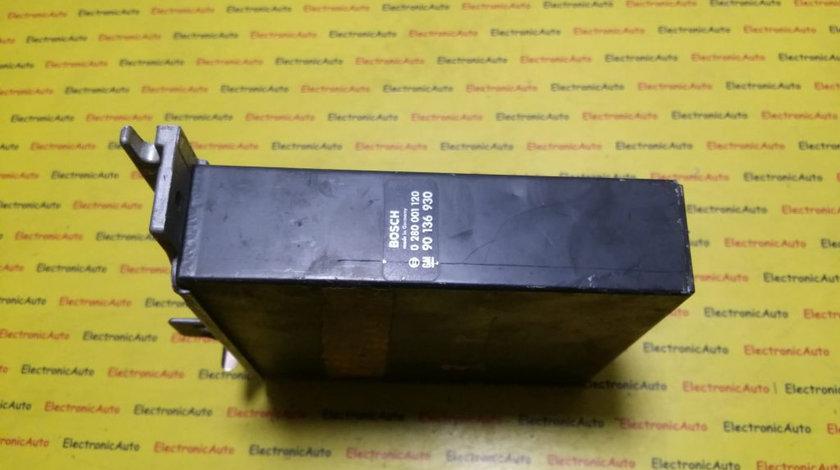 ECU Calculator Motor Opel Senator, 0280001120, 90136930
