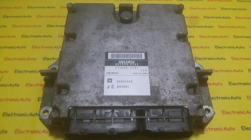 ECU Calculator motor Opel Signum 3.0CDTI 8973192743, 2758002181