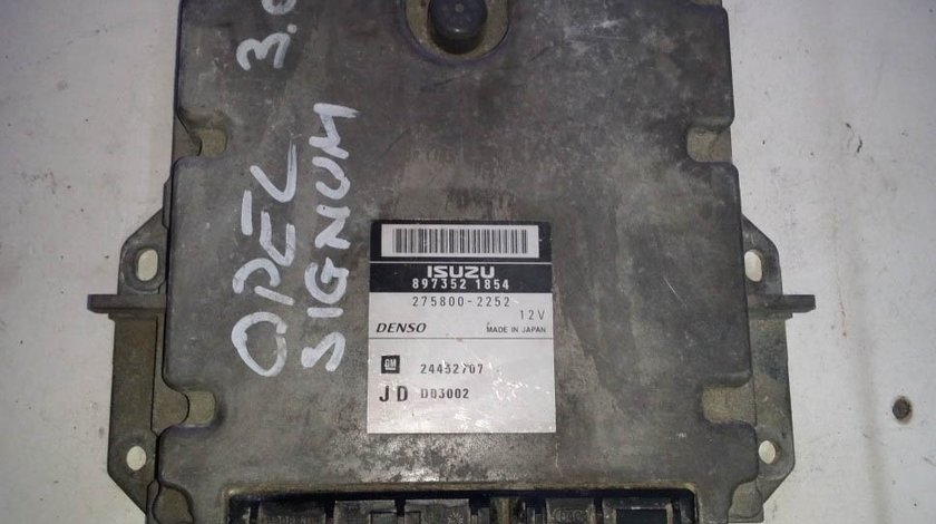 ECU Calculator motor Opel Signum 8973521854