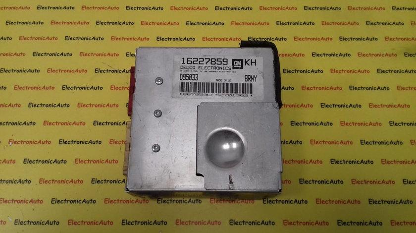 ECU Calculator Motor Opel Tigra 1.6, 16227859, KH BRNY