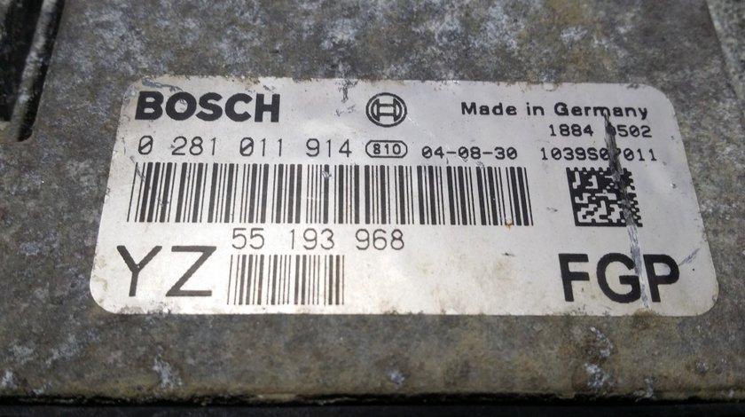 ECU Calculator motor Opel Vectra C 1.9 CDTI 0281011914
