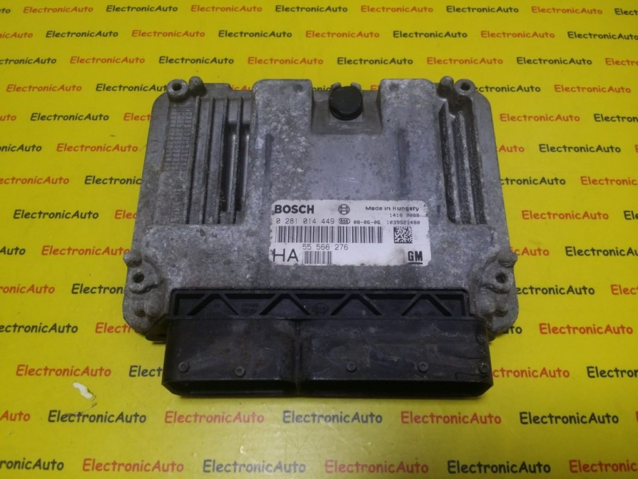 ECU Calculator Motor Opel Vectra C 1.9 CDTI, 0281014449