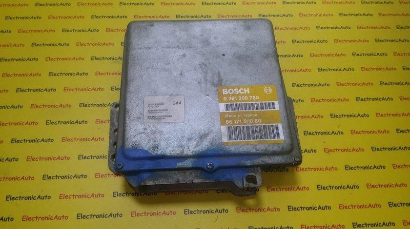 ECU Calculator motor Peugeot 106 1.0 0261200780, 9617150080
