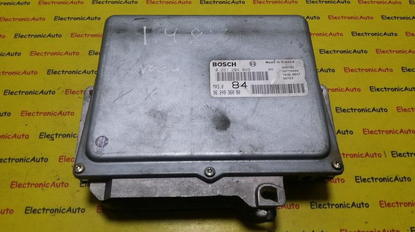 ECU Calculator motor Peugeot 106 1.4 0261204049, 9624936080