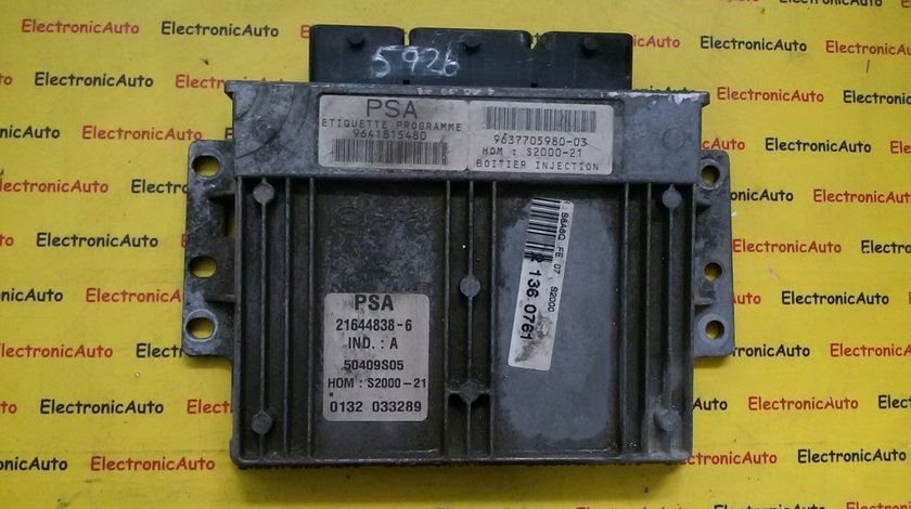 ECU Calculator motor Peugeot 106 1.4 9641815480