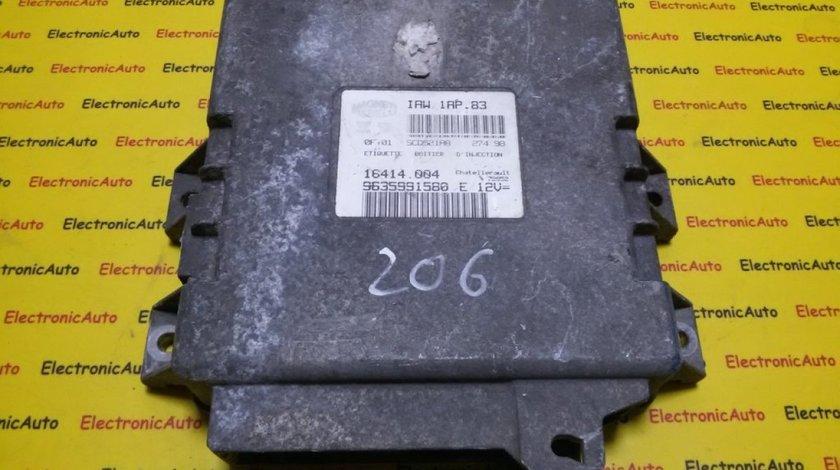 ECU Calculator motor Peugeot 206 9635991580, IAW1AP83