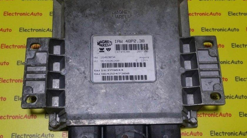 ECU Calculator motor Peugeot 206 IAW 48P2.38 16469034