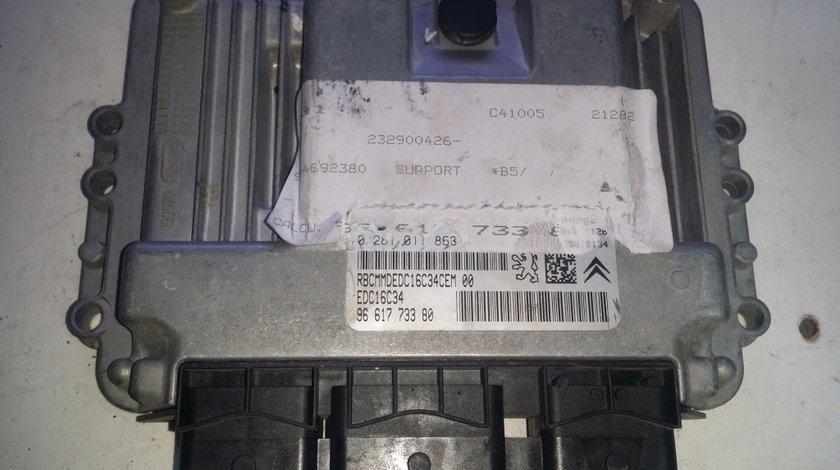 ECU Calculator motor Peugeot 307 1.6HDI 0281011863
