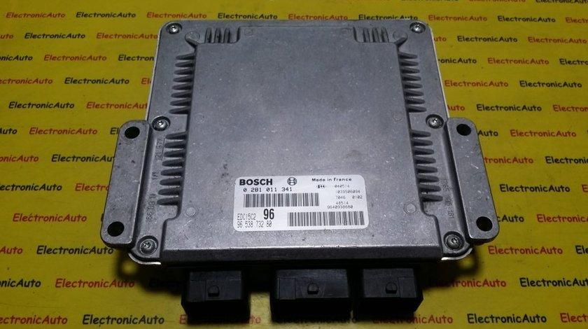 ECU Calculator motor Peugeot 307 2.0 hdi 0281011341, 9653873280