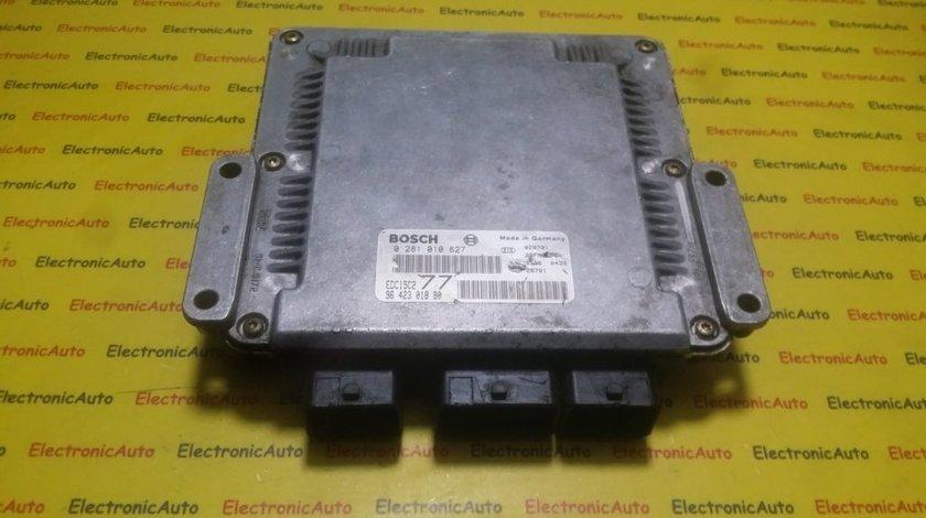 ECU Calculator motor Peugeot 406 2.0HDI 0281010627, 9642301880