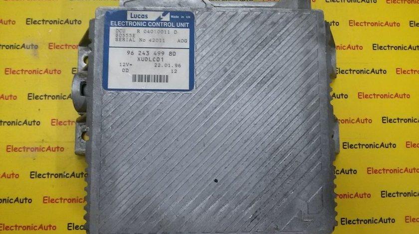 ECU Calculator motor Peugeot 406 2.1TD R04010011D, 9624349980