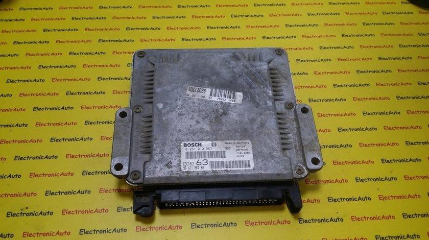 ECU Calculator motor Peugeot 607 2.2HDI 0281010567, 9641188180