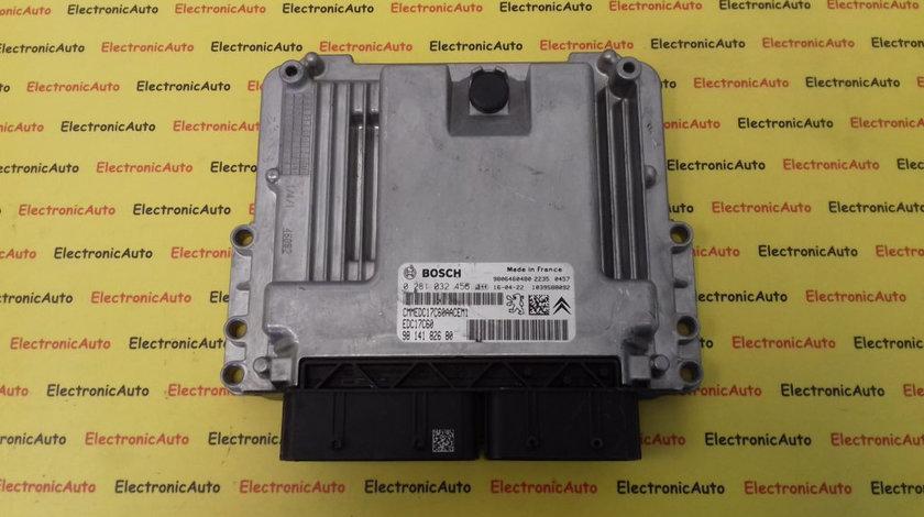 ECU Calculator Motor Peugeot, Citroen 1.6 HDI, 0281032456, 9814182680, 9806460480, EDC17C60