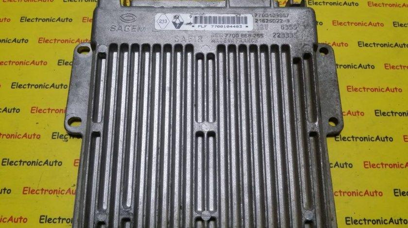 ECU Calculator motor Renault Clio 1.2 7700103967, HOM7700868295
