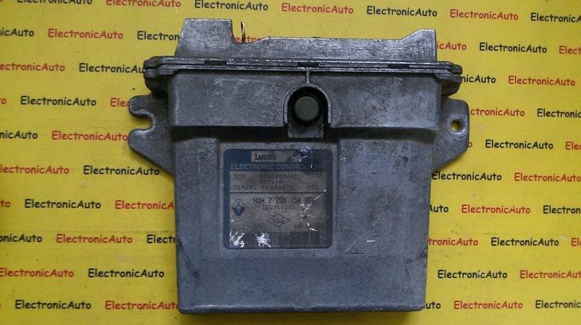 ECU Calculator motor Renault clio 2 1.9 R04080009F