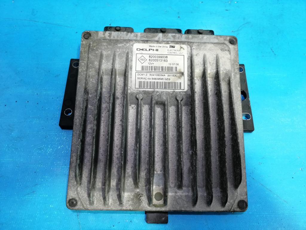ECU Calculator Motor Renault Clio 3 1.5 DCI 8200399038,8200513163