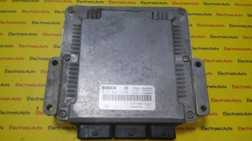 ECU Calculator motor Renault Espace 2.2DCI 0281010178, 8200095449