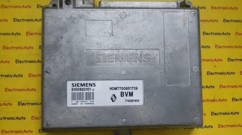 ECU Calculator motor Renault Espace II S100820101C, HOM7700851739