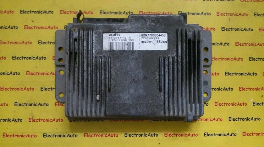 ECU Calculator motor Renault Laguna 1.8 HOM7700864458, S113717115B
