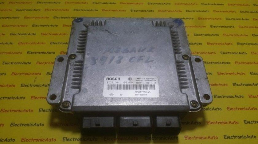 ECU Calculator motor Renault Laguna 1.9DCI 0281011102, 8200153945