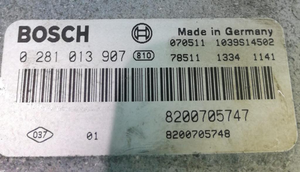 ECU Calculator Motor Renault Megane 2 1.9 DCI 8200705747, 0281013907
