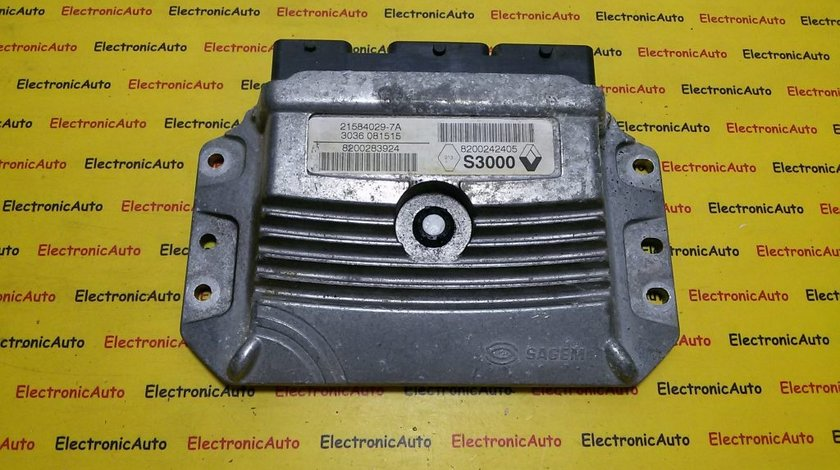ECU Calculator motor Renault Megane 215840297A, 3036081515, 8200242405