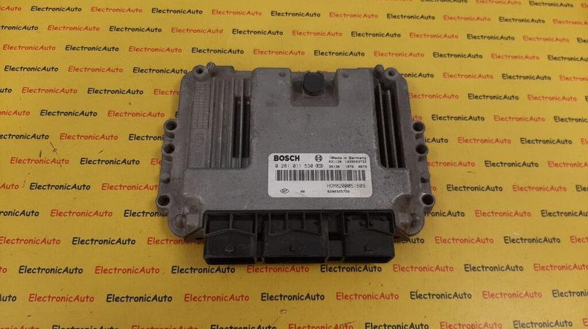 ECU Calculator motor Renault Trafic 1.9DCI 8200051609, 0281011530 (W3AZD1)