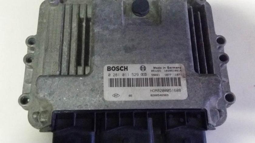 ECU Calculator motor Renault Trafic 1.9DCI 0281011529 EDC15C13