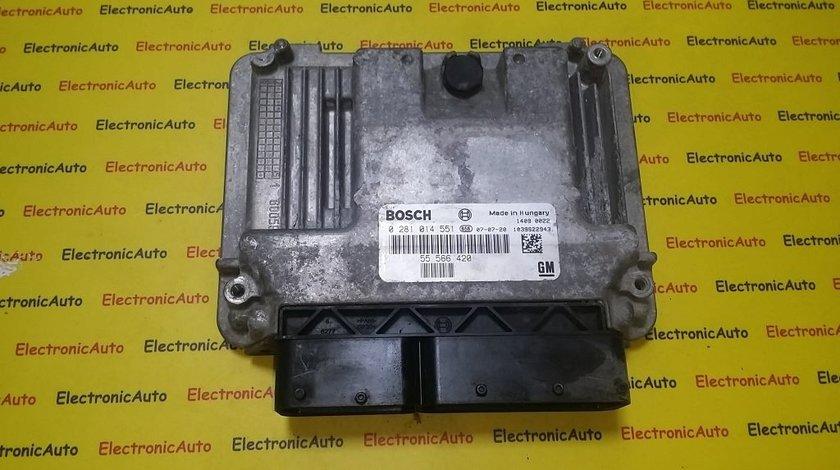 ECU Calculator motor Saab 9-3 1.9TID 0281014551, 55566420