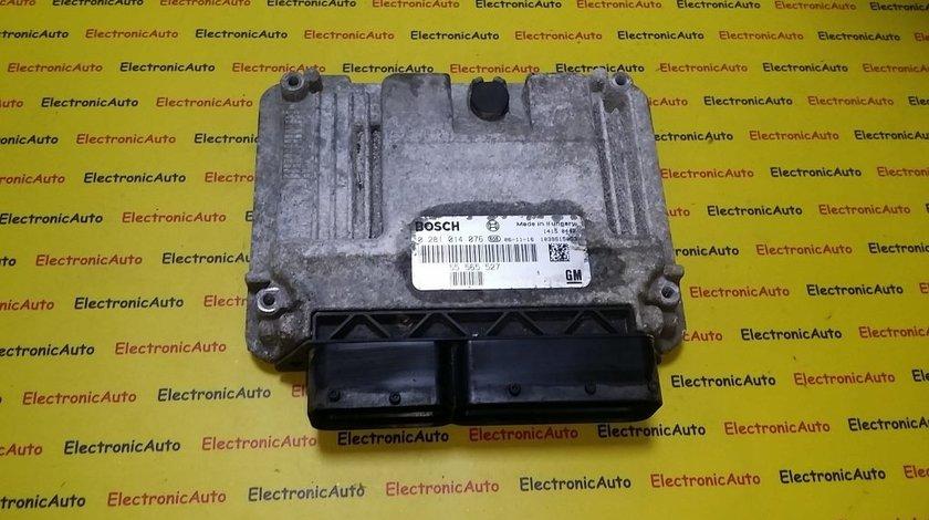 ECU Calculator motor Sabb, Opel Astra 0281014076, 55565527