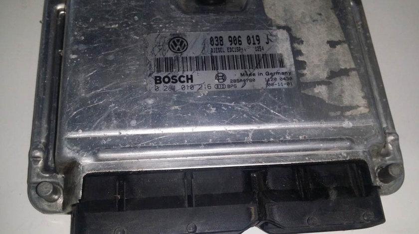 ECU Calculator motor Seat Alhambra 1.9 tdi 0281010216 038906019J