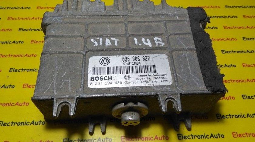 ECU Calculator motor Seat Arosa 0261204436, 030906027