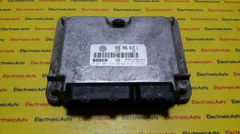 ECU Calculator motor Seat Arosa 1.7SDI 0281001748, 038906013L