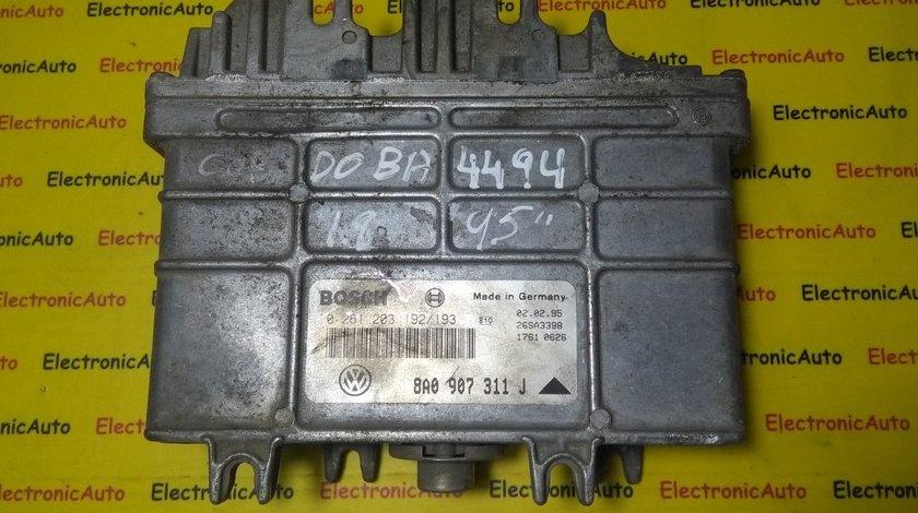 ECU Calculator motor Seat Cordoba 1.6 0261203192/193 , 8A0907311J