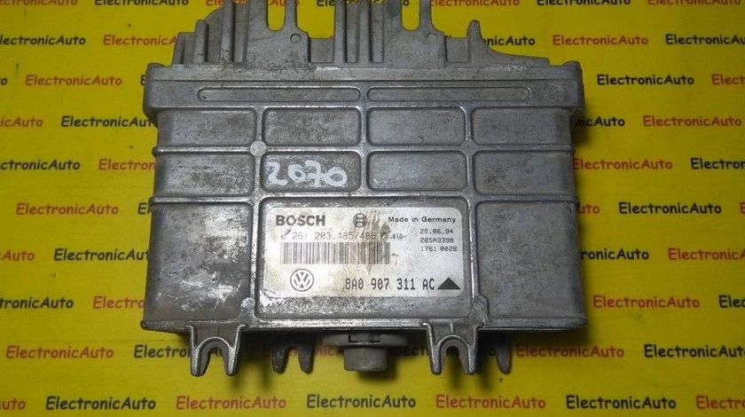 ECU Calculator motor Seat Cordoba 1.8 0261203485/486, 8A0907311AC